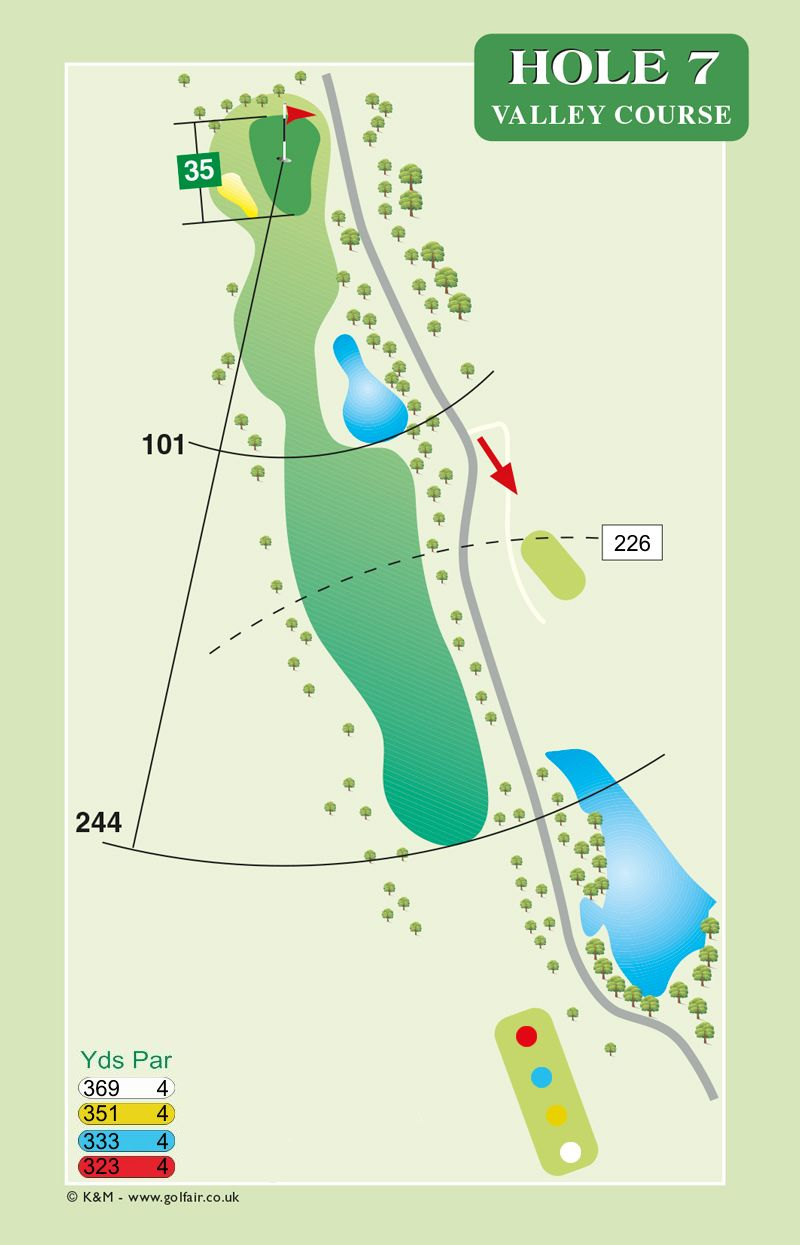 Hole 7 Valley Course